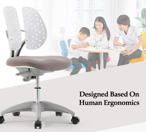 Twin Padded Basic Study Chair Singapore