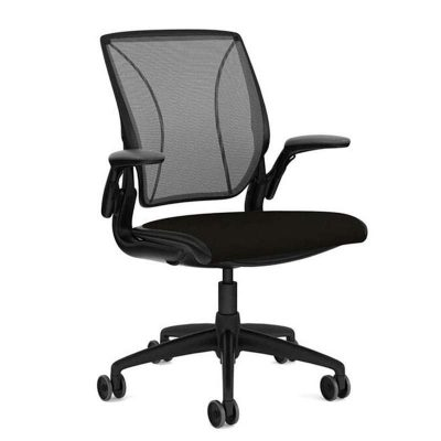 Humanscale Diffrient World Chair – W11BM10CF10 (Standard Black)