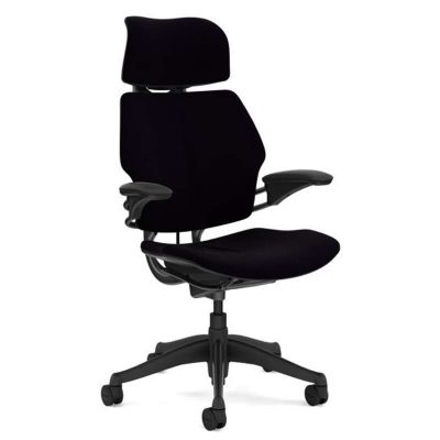 Humanscale Freedom Headrest Chair – F211GCF10 (Standard Black)