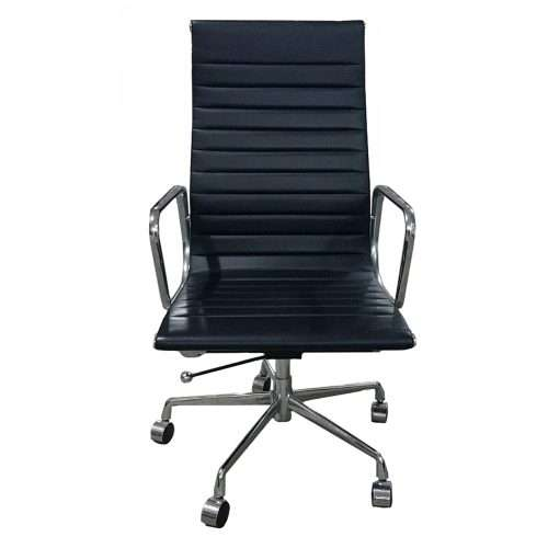 Aries High Back Leather Chair Singapore