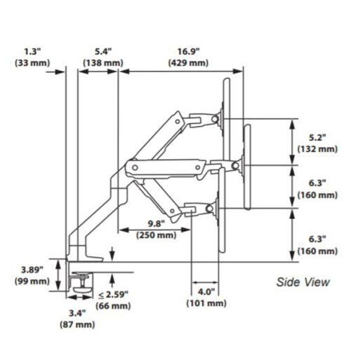 HX Desk Monitor Arm