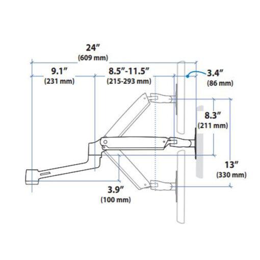 LX ARM EXTENSION COLLAR KIT
