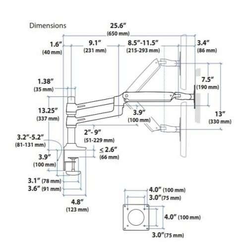 LX Dual Stacking Arm
