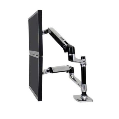 Ergotron LX Dual Stacking Arm (Clamp/Grommet)