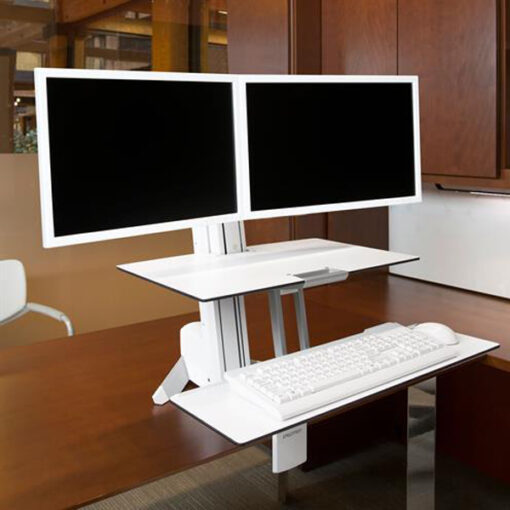 WorkFit S Dual Workstation