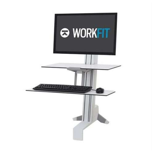 WorkFit S Single HD Workstation