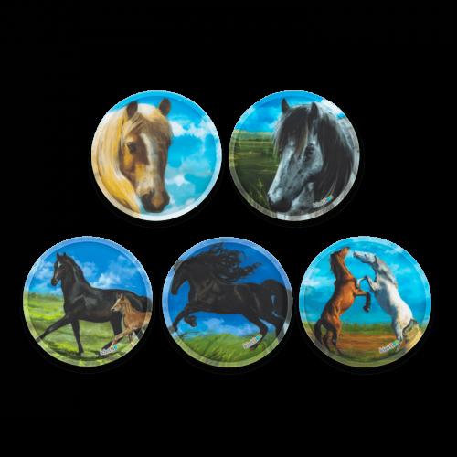 Ergobag Klettie Set Horses