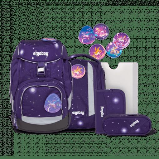 Ergobag Pack School Backpack Set Beargasus Glow