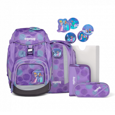 ergobag Pack School Backpack Set SleighBear Glow