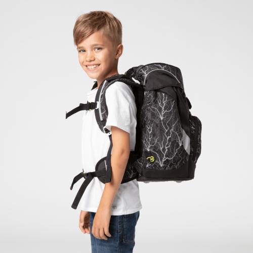 Ergobag Prime Backpack Super ReflectBear Glow