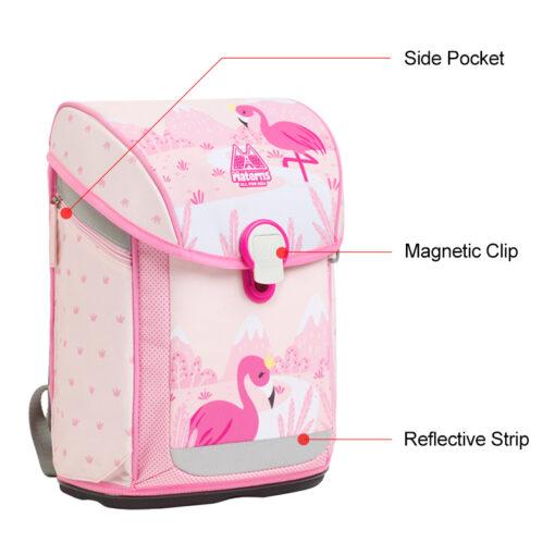 M0125 Flamingo School Bag