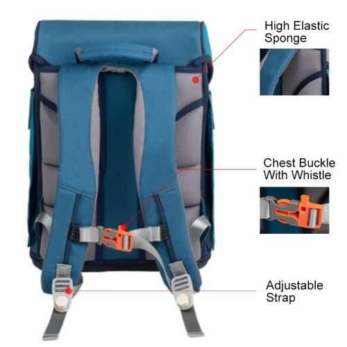 M0228 Map School Bag
