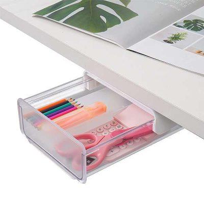 Self Adhesive Under Desk Drawer